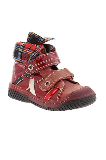 babybotte boots fille de couleur rouge