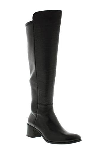 unisa bottes femme de couleur noir