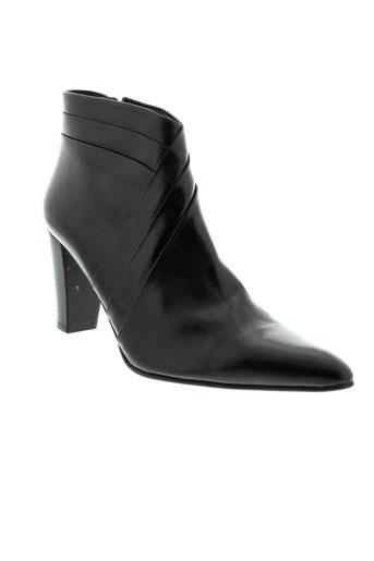 perlato chaussures femme de couleur noir