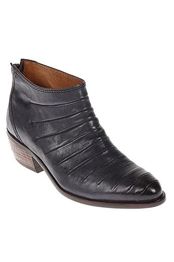 little et bisous boots femme de couleur bleu