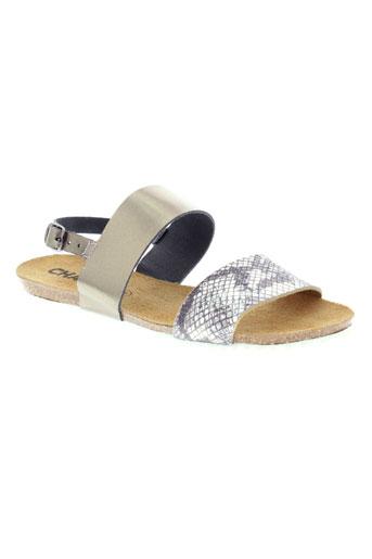 chacal chaussures femme de couleur gris