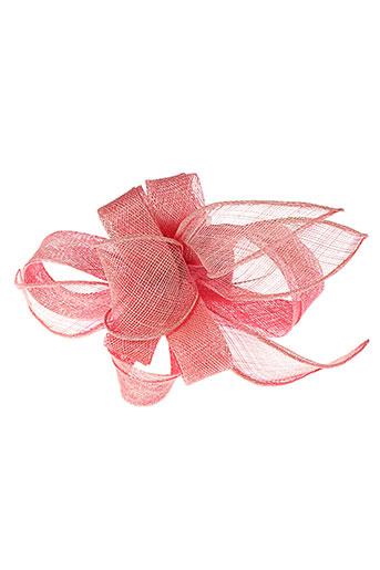 camalya chapeaux et bonnets femme de couleur rose