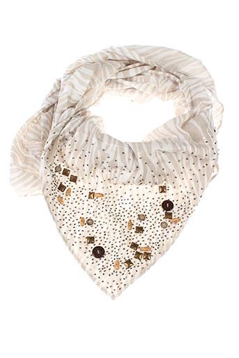esprit foulards femme de couleur beige