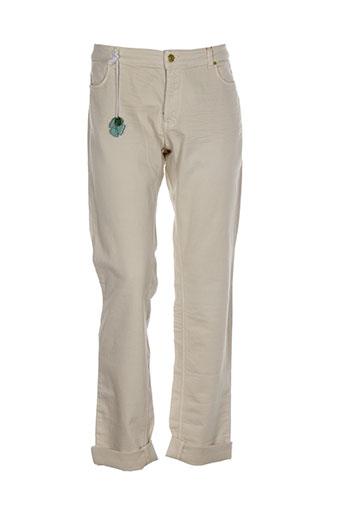 cks jeans femme de couleur beige