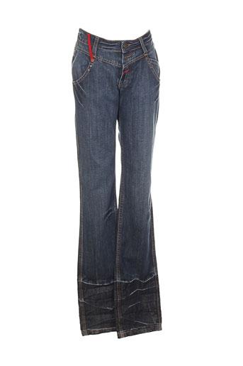 kenzo jeans femme de couleur bleu