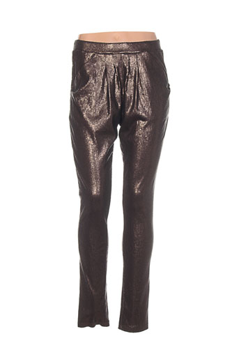 Pantalon chic marron ONE STEP pour femme
