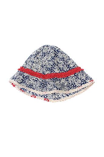 chipie chapeaux et bonnets fille de couleur bleu