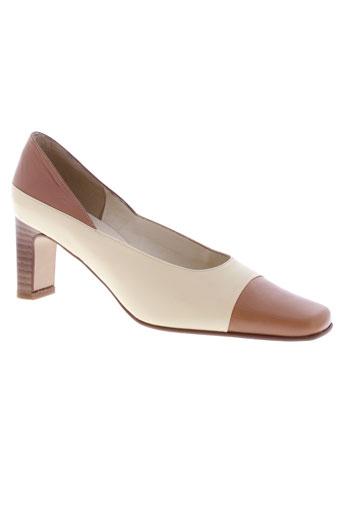 j.metayer chaussures femme de couleur beige