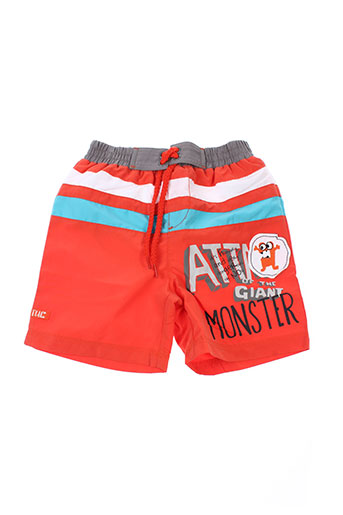 tuc tuc maillots de bain garçon de couleur orange