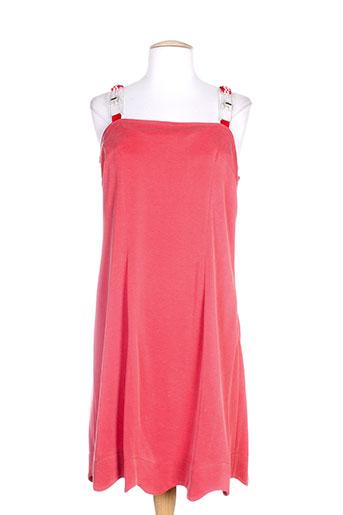lo! les filles robes femme de couleur rouge
