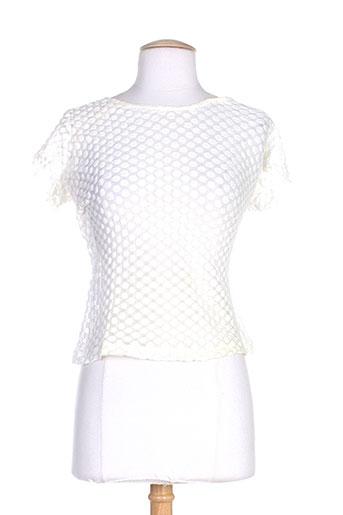 lo! les filles t-shirts femme de couleur blanc