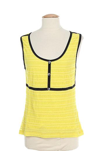lo! les filles t-shirts femme de couleur jaune