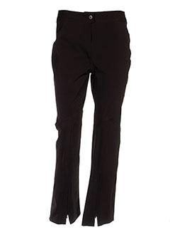 Pantalon casual marron DESTINATION NORD SUD pour femme
