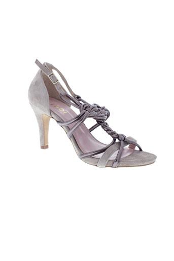 lodi chaussures femme de couleur gris