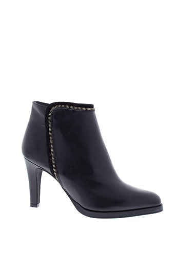 myma boots femme de couleur noir