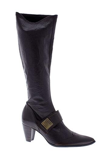 france et mode bottes femme de couleur marron