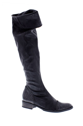 france et mode bottes femme de couleur noir