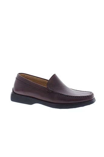 geox mocassins homme de couleur marron