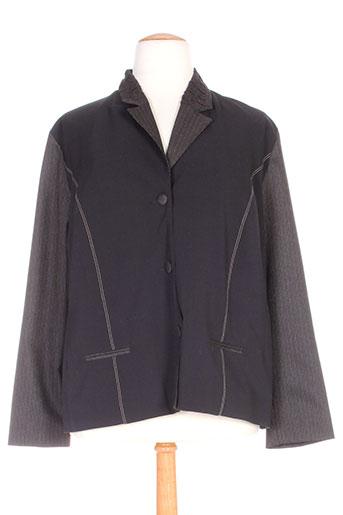 Veste chic / Blazer noir ROSA ROSAM pour femme