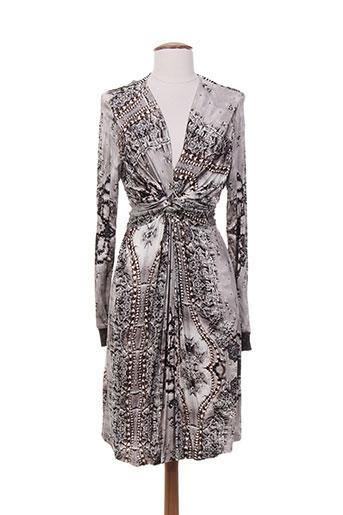 tricot chic robes femme de couleur gris