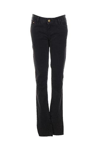acquaverde jeans femme de couleur noir