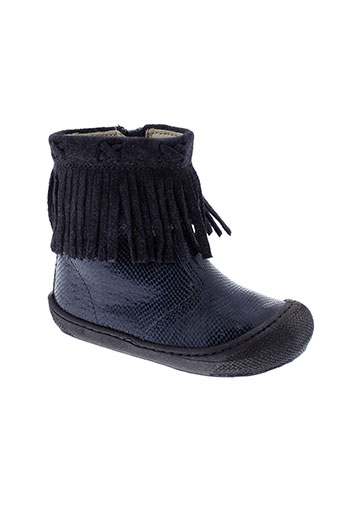 naturino chaussures fille de couleur bleu