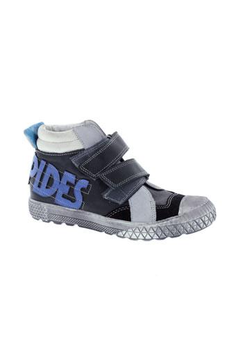 babybotte boots garcon de couleur noir