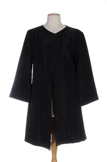 Veste casual noir BETTY BOOM pour femme