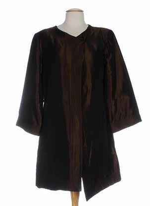 Veste casual marron BETTY BOOM pour femme
