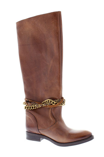inuovo bottes femme de couleur marron