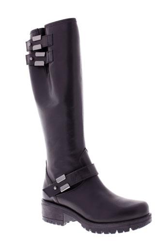 venezia bottes femme de couleur noir