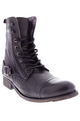 moshion boots homme de couleur noir