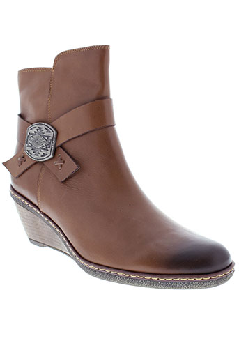 fugitive et by et francesco et rossi boots femme de couleur marron