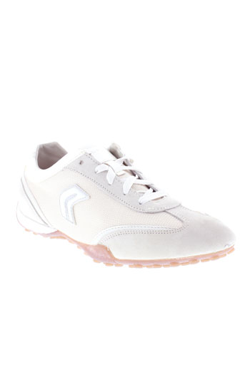 geox baskets homme de couleur blanc