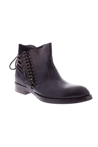 area et forte boots femme de couleur marron