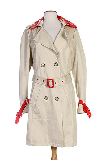 on parle de vous manteaux femme de couleur rouge