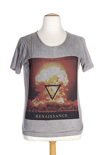T-shirt manches courtes gris DRX LEGEND pour femme