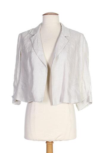 Veste casual beige DRESS ADDICT pour femme