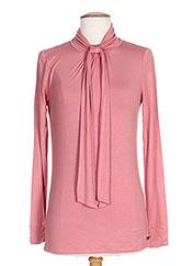 T-shirt manches longues rose RIVER WOODS pour femme seconde vue
