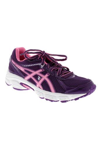 asics chaussures enfant de couleur violet