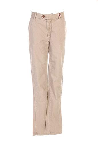 pepe jeans pantalons homme de couleur beige