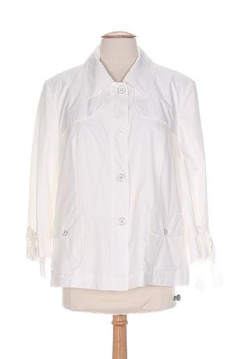 Veste casual beige EUGEN KLEIN pour femme