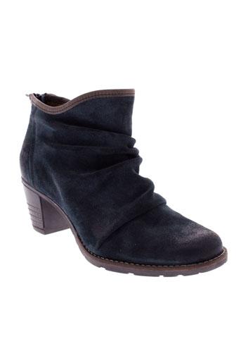 dkode boots femme de couleur bleu
