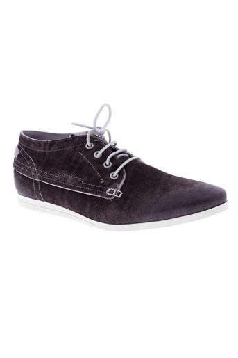 kost boots homme de couleur marron