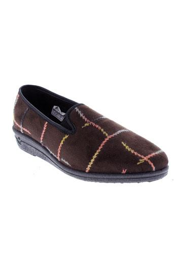 wapiti chaussures femme de couleur marron