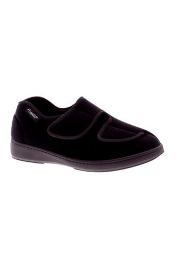 podowell pantoufle garcon de couleur noir