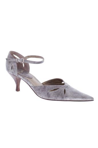 pierre chupin chaussures femme de couleur gris