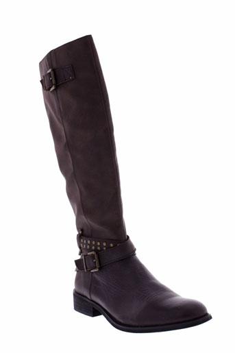 madison bottes femme de couleur marron