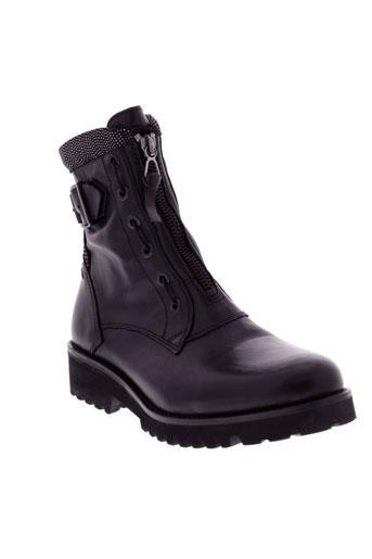 regard boots femme de couleur noir