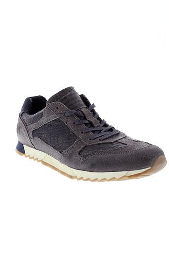 mustang chaussures homme de couleur marron